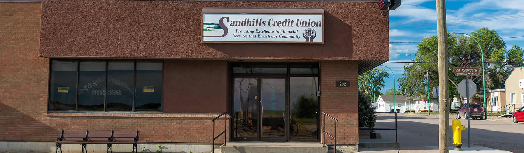 Sandhills Credit Union - located in Leader, Saskatchewan