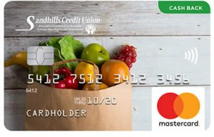 Sandhills Credit Union Cash Back Mastercard