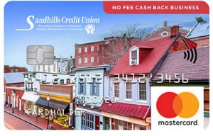Sandhills Credit Union No Fee Cash Back Business Mastercard