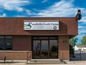 Sandhills Credit Union in Leader, Saskatchewan