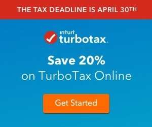 SAve 20% on TurboTax Online
