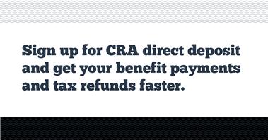 CRA Direct Deposit